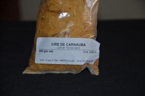 cire de carnauba