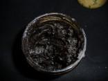 pâte d'encaustique au bitûme de judée vue de dessus