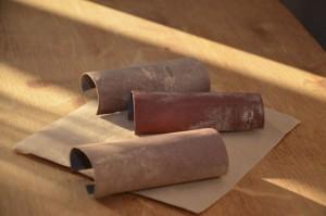 abrasifs utilisés pour poncer